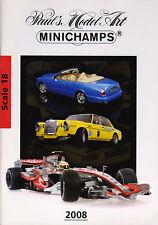 Minichamps Die-Cast Model Catalogue 1:18 Scale 2008