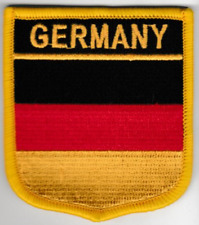 Germany Deutsch Country Flag Embroidered Patch T7
