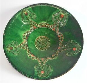 PACO TITO Ubeda/Espana - sehr große Keramikschale - 46cm Durchmesser
