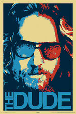 "THE BIG LEBOWSKI - MOVIE POSTER / PRINT (THE DUDE POP-ART) (SIZE: 24"" X 36"")"