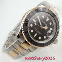 41mm Parnis black Dial Sapphire crystal miyota Automatic movement men's Watches