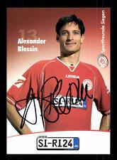 Alexander Blessin Autogrammkarte Sportfreunde Siegen 2006-07 Original +A 139949