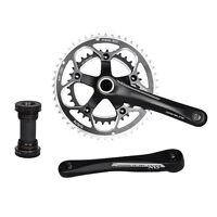 DRIVELINE DXrace Crankset Road Bicycle Arm Chainring 34-48T 172.5mm Black BSA BB