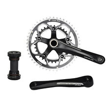 DRIVELINE DXrace Crankset Road Bicycle Arm Chainring 34-48T 172.5mm Black BSA BB