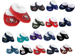 NFL Low Top Baby Booties Slippers by Forever Collectibles