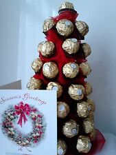 Christmas Tree - Ferrero Rocher Tree, Christmas Gift +  PERSONAL GREETING CARDS