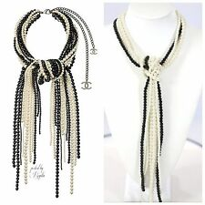 TS Get The Look!!! Handmade White Faux Pearl Knot Statement Necklace Boutique