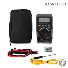 Kewtech KT116 multímetro digital, medición de resistencia a la temperatura LDMC 25 caso