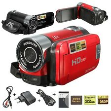 "Pro Cam 16MP 2.7"" LCD Full HD 1080P Digitale VIDEOCAMERA CAMCORDER 16X ZOOM DV"