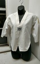 Century Gi Uniform Shirt White Youth Size 00 Tae Kwon Do