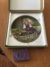 The Frog King Collector Plate by Gerda Nuebacher (W. Germany)