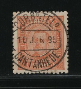 Portugal - D. Carlos I - Marcofilia - CANTANHEDE