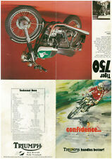 Sales brochure original Prospekt Triumph 1976/77 t140v tr7v Joli Cadeau