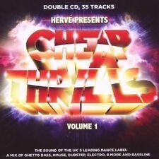HERVE PRES. CHEAP THRILLS VOL 1 2CDs (New & Sealed) Dubstep Bass Jack Beats