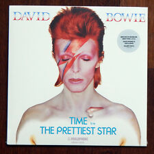 "David Bowie Is Brooklyn Museum Exclusive Silver 7"" Vinyl Record Time Prettiest"