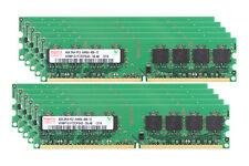40GB Kit Hynix 4GBx10pcs 2Rx4 PC2-6400 DDR2 800Mhz 240Pin Memória Ram Desktop AMD