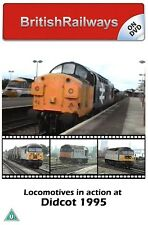 Locomotives in action at Didcot 1995 | Great Western Main Line | Railway DVD
