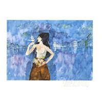 HANNO EDELMANN -  Originalgrafik -  HANDSIGNIERT - VK: 140 Euro
