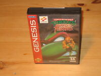TMNT Tournament Fighters Sega Genesis Case/Box, Cover Art Only NO GAME CARTRIDGE