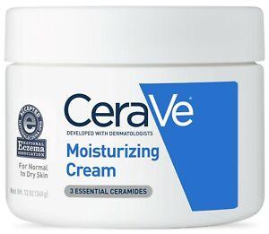 CeraVe Moisturizing Cream 12 Oz.  FREE SHIPING. 2-DAY