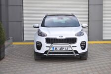 Kia Sportage Chrome Acier Inoxydable Essieu Coup A-Bar , Pare-Buffle 2016 On