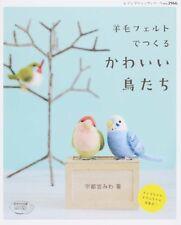 NEEDLE FELT Wool Cute Birds - Japanese Craft Book SP1