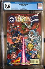 DC vs MARVEL #4 CGC 9.6 Wolverine Batman Superman Lobo comic Hulk X-Men Thor JLA