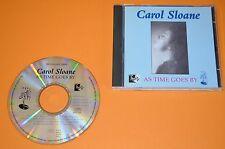 Carol Sloane - As Time Goes By / Prestige Records 1997 / UK / Rar