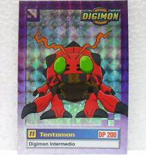 DIGIMON TRADING CARDS - TENTOMON 14/34 foil - CARTE UFFICIALI SERIE TV-1a SERIE