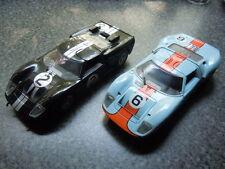 2 x seltene Ford GT 40 Le Mans Modelle von Jouef und Universal Hobbies in 1:18