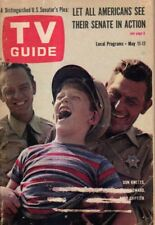 1963 TV Guide May 11 - Andy Griffith; Ron Howard; Don Knotts; Warren Oates;Burke