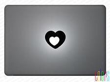 """Herz Heart Cool Aufkleber für Apple Macbook 13"""" 15"""" Pro Air Retina Sticker Skin"""