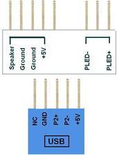 Q-Connector Set Asus P5W M3N M3A Formula Extreme NEU 2x