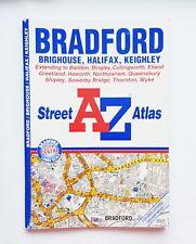 Bradford Brighthouse Halifax Keighley Street A-Z Atlas 1999