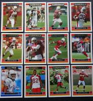 2006 Topps Arizona Cardinals Team Set of 12 Football Cards