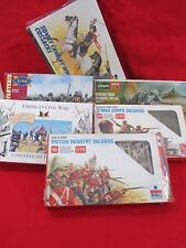Lot of 6 Soldier Military Model Kits - Unassembled in original boxes