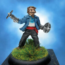 Sam Taliaferro painted miniature, Steampunk Steve Jackson Games.