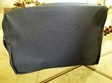 Mally Beauty Grey Cosmetics / Makeup Bag  grey bag grey lining - Brand new