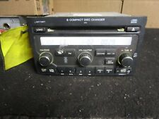 06 07 08 Honda Pilot Radio 6 Disc Cd Player Changer Xm Has Code 39100