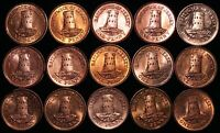 Mix Of Jersey Elizabeth II 1 Penny Coins | Bronze | Bulk Coins | KM Coins