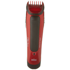 Braun Hair Trimmer Clipper Old Spice Electric Shaver Body Beard Haircut Red New