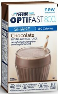 OPTIFAST® 800 READY-TO-DRINK SHAKES | CHOCOLATE | 1 CASE | NEW & FRESH EXP 05/22