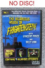 NO DISC The Hilarious House of Frightenstein Vol. 1 DVD Vincent Price Horror OOP