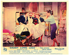DADDY LONG LEGS ORIGINAL LOBBY CARD TERRY MOORE LESLIE CARON 1955