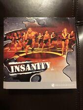 Insanity BeachBody Total Body Workout Program Disc DVD Set - INCOMPLETE 9/10