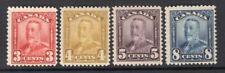 Canada 1928 GV 3c-8c Mint(8c NH) FVF