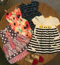 Lot of Children's Clothing Size 5T Girls Dresses Shoes Fun Summer