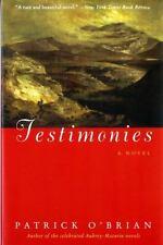 Testimonies by Patrick O'Brian (1995, Paperback)