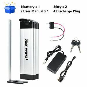 36V15Ah Silver Fish Battery Electric Bike Battery for 500W Kit E-bike Battery