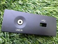 2012-2014 FORD FOCUS SEDAN CENTER CONSOLE LINE IN/USB TRIM BEZEL OEM SEE PHOTO 1